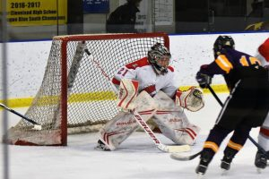 Pictures of our White-South Division Champion Hockey Team in Baron Cup vs Avon