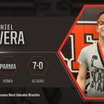 Redmen Wrestler Daniel Devera Selected Great Lakes Conference Most Valuable Wrestler