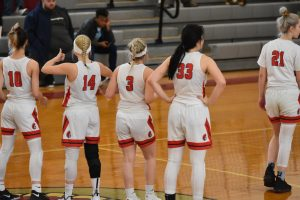 Pictures of Girls Basketball's Victory over John Adams in OHSAA Sectional Game (and 9th vs Cuy. Hts.)