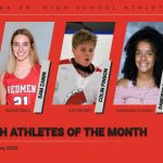 Congratulations to the Redmen Athletes of the Month for February