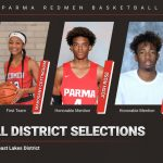 Redmen Basketball: Cottingham, Eason and Rose Receive All-District Basketball Honors