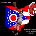 Redmen Girls Basketball Freshmen Phenom Mahogany Cottingham Named 3rd Team All-Ohio