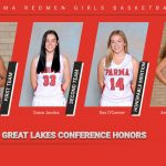 Lady Redmen Basketball Players Receive All-GLC Honors