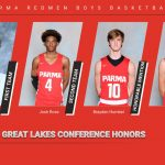 Redmen Basketball Players Receive All-GLC Honors