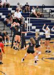 Action Pics of Volleyball vs Valley Forge