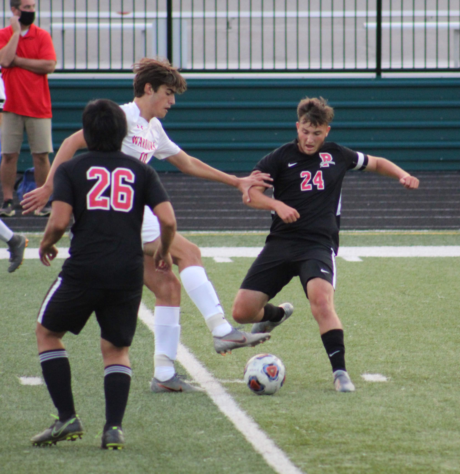 Action Pics of Boys Soccer vs. Fairview