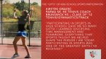 """""""Get in the Game"""" Holiday Feature: The Many """"Gifts"""" of Playing a High School Sport –  PSH Girls Tennis Coach Kirsten Oravec"""