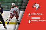 Redmen Ice Hockey Beats Lakewood to Raise Season Record to 7-4