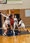 Action Pics of Girls JV/Varsity Basketball vs Valley Forge