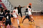 Action Pics of Girls Basketball vs Garfield Hts.