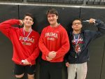 3 Redmen Wrestlers Place at District Tournament; Devera Qualifies for State Tournament for 2nd Straight Season