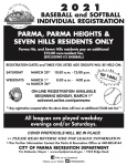 City of Parma Youth Baseball and Softball Registration – ENDING SOON