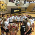 Amarillo High School Girls Varsity Volleyball beat Trinity Christian High School 3-0