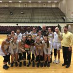 Lady Sandies beat East Central 44-39 to win the Lonestar Tournament!!!