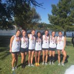 Amarillo High School Girls Varsity Cross Country finishes 3rd place