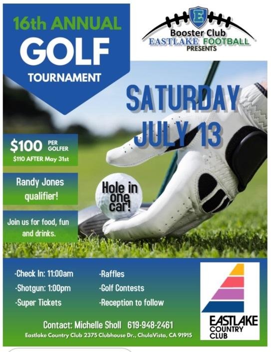 2019 Titan Golf Football Tournament Date Announced!
