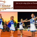EHS Cheer in CV Starlight Parade 12/7