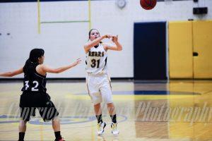 Girls JV. Basketball vs. Eagle Jan. 16 2015