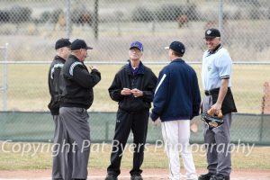 RHS Varsity Boys Baseball vs. Basalt 03 18 2015