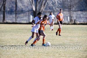 RHS Varsity Girls Soccer vs. Grand Junction JV. 03 20 2015
