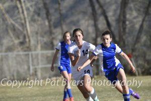 RHS Girls Varsity Soccer vs. Coal Ridge 03 31 2015