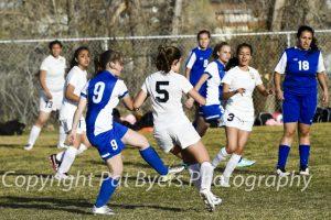 RHS Junior Varsity Girls Soccer vs. Coal Ridge