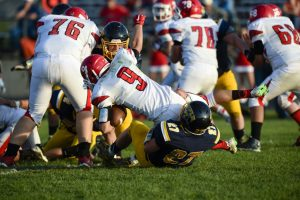 RHS Bears Football vs Grand County 08 28 2015