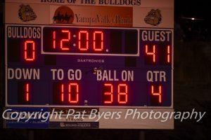 RHS Varsity Football vs Moffat County