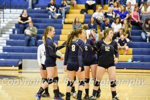 RHS Girls Volleyball JV vs Delta 09 2015