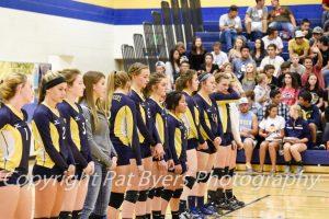 RHS Girls Volleyball Varsity vs Palisade 10 01 2015