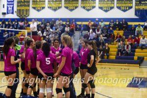 RHS Girls C team Volleyball vs Steamboat