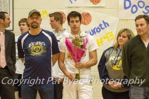 RHS Senior Night Basketball 2016