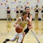 Rifle Girls Win Playoff Game, Walters Scores 1,000th Point