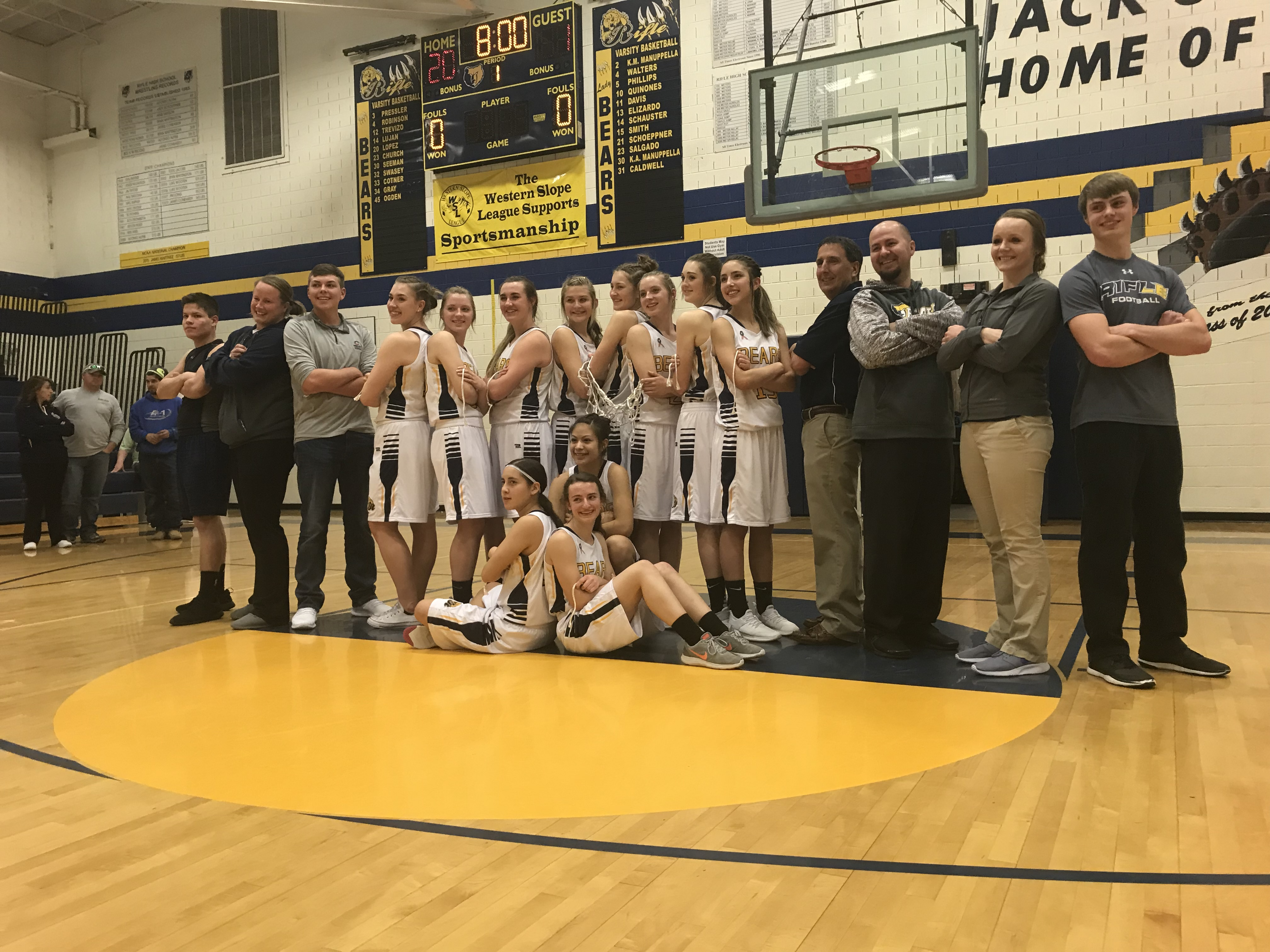 Rifle Girls' Basketball to Host 2nd Round Playoff Game Friday