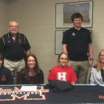 Anna Hathcock Signs a Swimming Scholarship with Milligan College