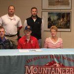Jordan Davis Signs a Baseball Scholarship to Carson Newman College