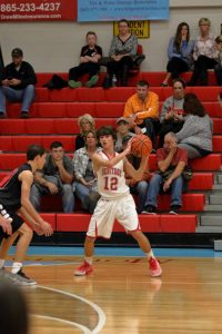 9th Boys Basketball Pictures vs. Maryville