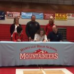 Maddy Sutton Signs a Scholarship to Play Basketball at Tusculum College