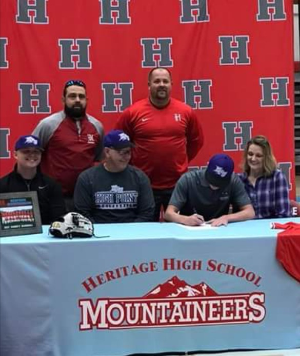 Casey Haire Signs Baseball Scholarship With Point University