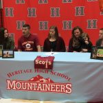 Jazmine Geary signs to play Softball at Maryville College