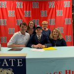 Mountaineer Swimmer Ethan Hathcock Signs scholarship to Wingate University