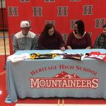 Kaelee Franklin Signs to play Softball at Hiwassee College
