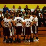 8th Grade Boys Basketball Defeats the Mounties!