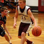 7th Grade Boys Basketball Team Defeats NW in Overtime! 78-72!!