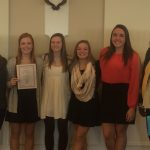 Congratulations to the Girl's Golf Team for Receiving Academic All State Honors