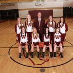 Western Girls Basketball Battled Marshall