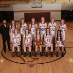 JV Girls Basketball Team Battled Marshall