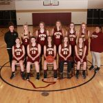 Freshman Girls Basketball Battled Marshall