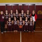 8th Grade Maroon Girls Basketball Battles Pennfield