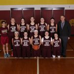 7th Grade Maroon Girls Basketball Defeats Pennfield!
